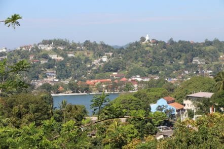 Panorama über Kandy
