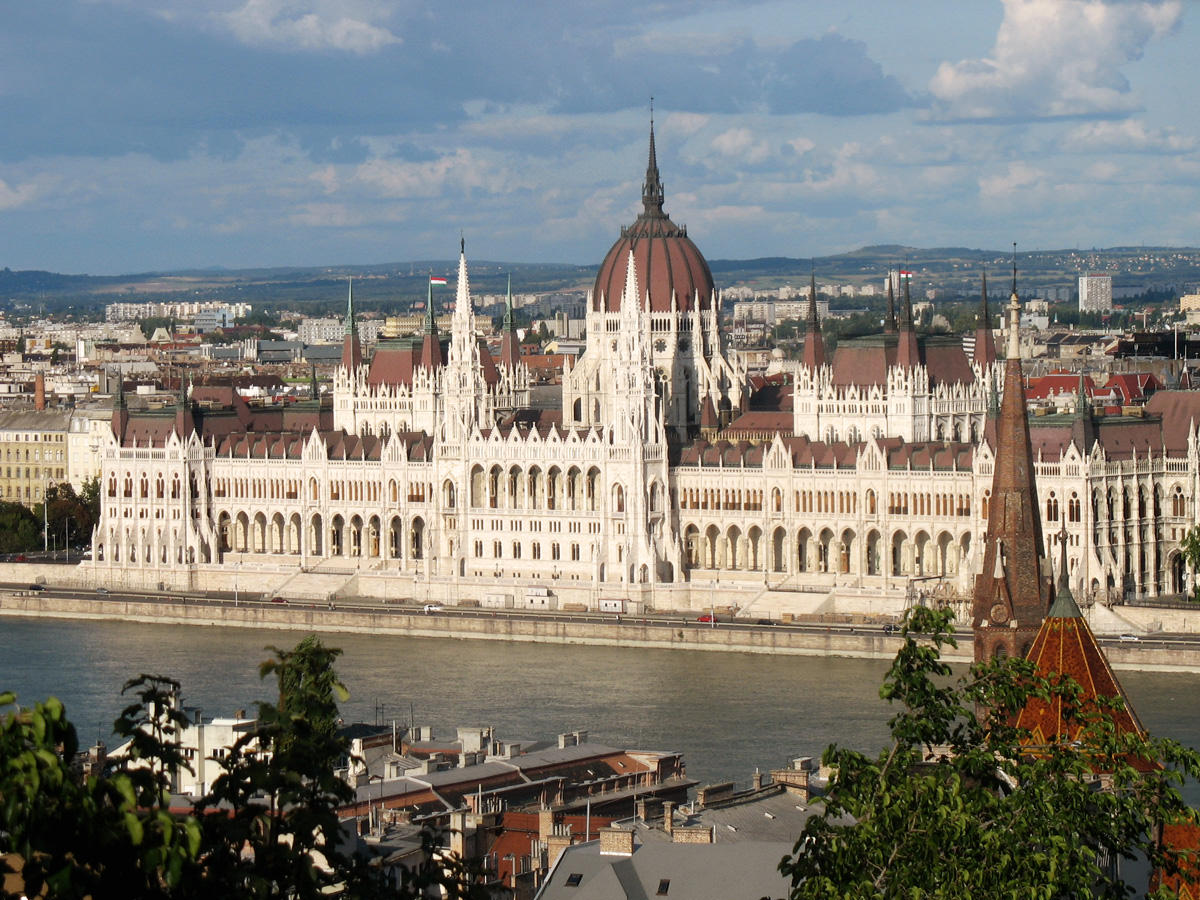 Wahrzeichen von Budapest: Das Parlamentsgebäude