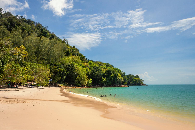 Ein weiterer Strand Langkawis: Pasir Tengkorak Beach