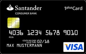 Santander Kreditkarte zum Reisen