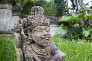 Tempel und Paläste auf Bali in Indonesien