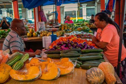 Markt von Mahé