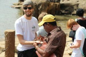Im Gespräch mit einem Srilanker