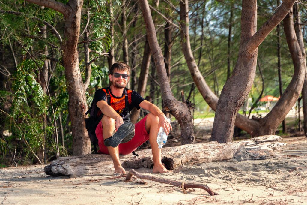 Francis am Tanjung Rhu Beach auf Langkawi