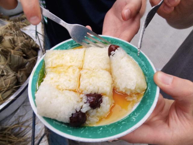Diesen uigurischer Snack gibt es nur zu bestimmten Zeiten.