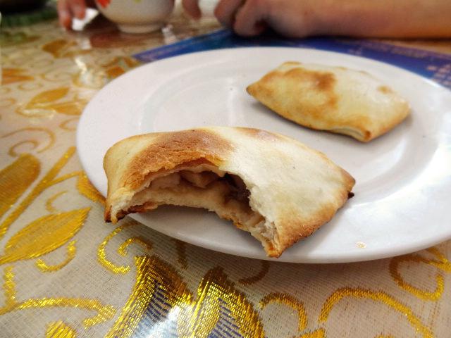 Uigurisches Samsa mit Lamm