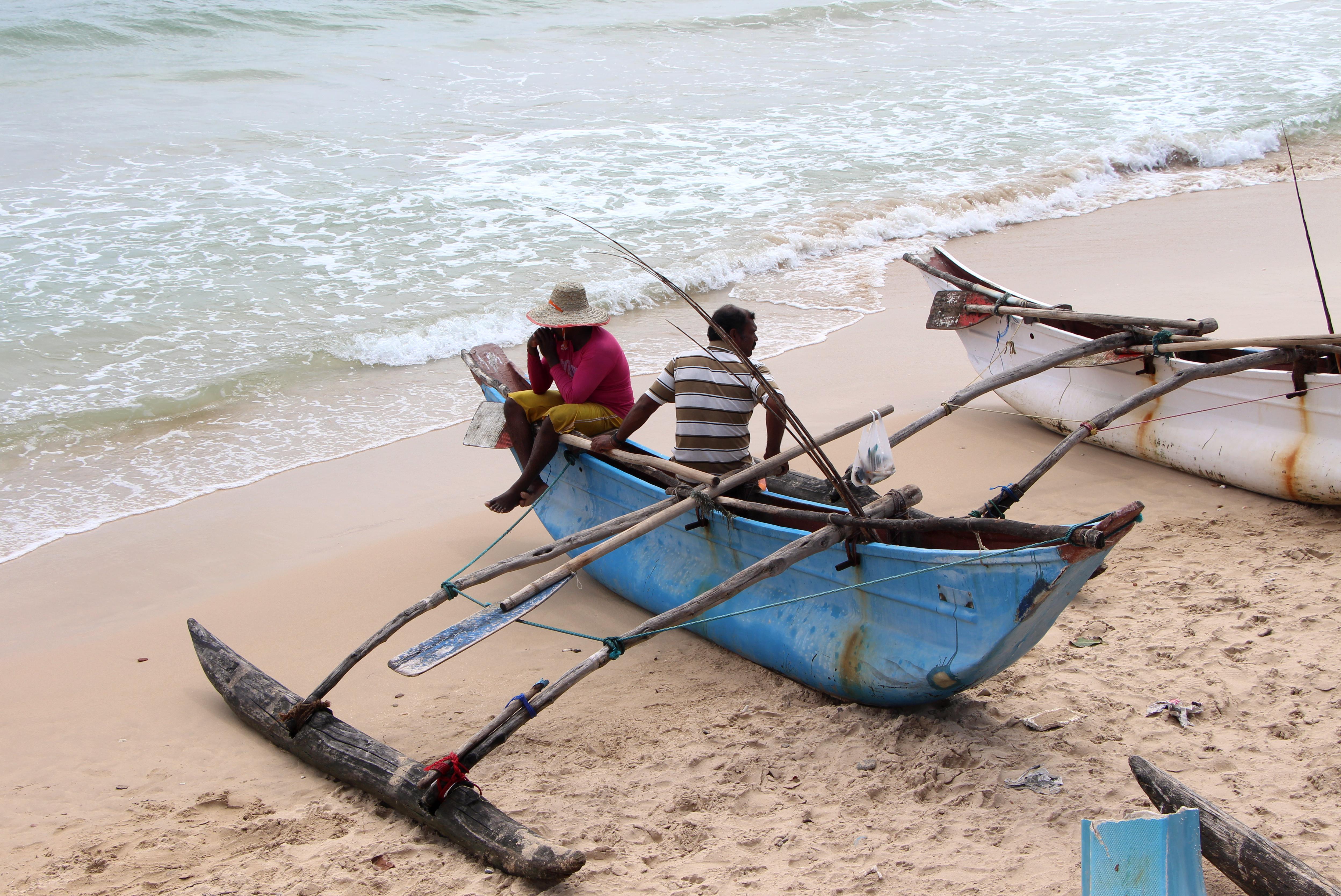 Fischer an der Ostküste Sri Lankas